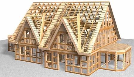 skeletne hiše